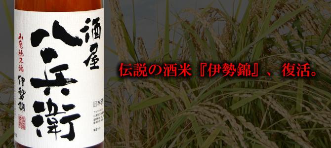 酒屋八兵衛 山廃純米酒 伊勢錦 1...
